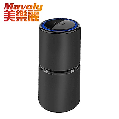美樂麗 杯型負離子 車用空氣清淨機 SC-06 可分解PM2.5/二手煙/異味