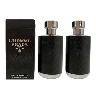 PRADA L Homme Prada 男性淡香水 小香9ml (2入)