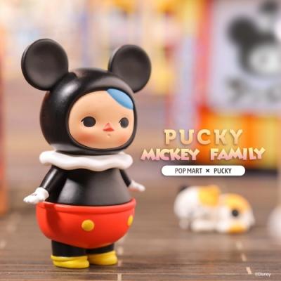 Pucky畢奇精靈米奇家族系列公仔盒玩(12入盒裝)