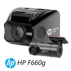 HP 惠普 F660G GPS測速 雙鏡頭行車紀錄器