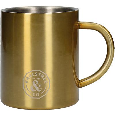 CreativeTops Earlstree銅色雙層不鏽鋼馬克杯(300ml)