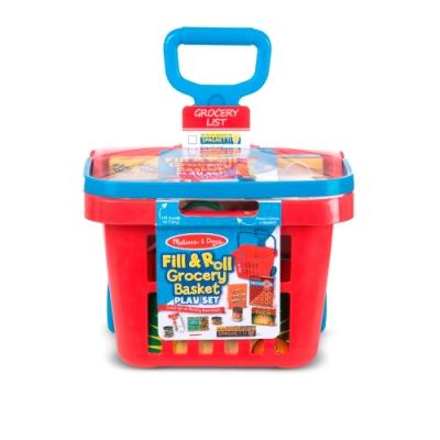 美國瑪莉莎 Melissa & Doug 玩食趣 - 超市購物玩具籃
