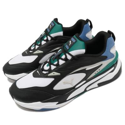 Puma 休閒鞋 RS-Fast Mix 男鞋 復古 老爹鞋 撞色 球鞋穿搭 透氣 白 黑 37564102