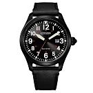 CITIZEN GENT'S光動能震撼時尚腕錶-黑(BM6835-23E)42mm