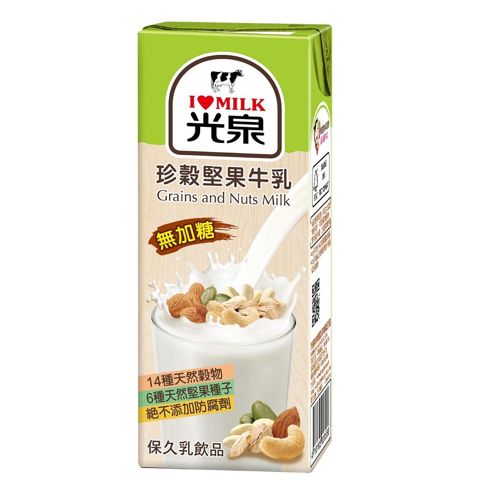 光泉 珍穀堅果牛乳(200mlx24入) @ Y!購物
