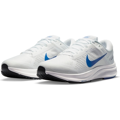 NIKE 耐吉 慢跑鞋 運動鞋 緩震 男鞋 白 DA8535-100 AIR ZOOM STRUCTURE 24