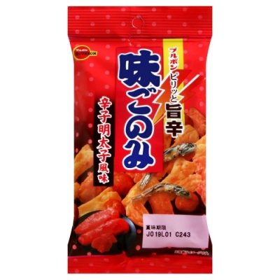 北日本 辣鱈魚卵風味綜合米果-小包(39g)