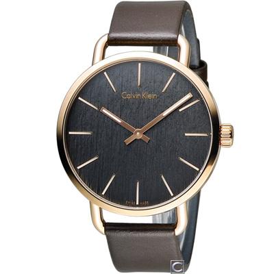 Calvin Klein K7B even 超然風格時尚腕錶(K7B216G3)