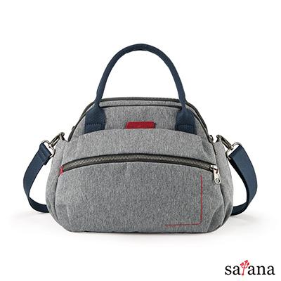 satana -Fresh 輕職人心機美人手提包-麻花灰