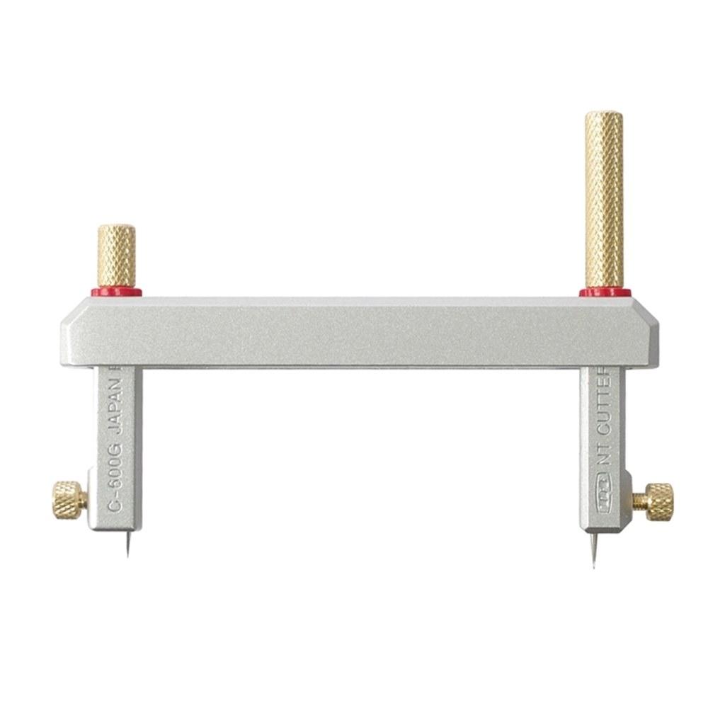 日本製NT Cutter可折疊切圓刀切圓器C-700GP割圓器(適切割圓形直徑1-14cm)割圓刀工具金屬材質施力更輕鬆