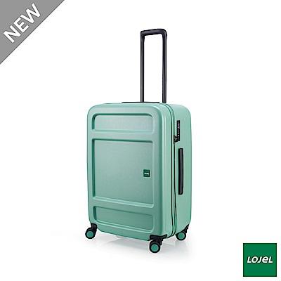 LOJEL JUNA 27吋 行李箱 雙齒防盜防爆拉鍊 飛機輪 草綠色