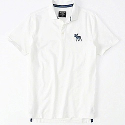 AF a&f Abercrombie & Fitch POLO 白色 1025