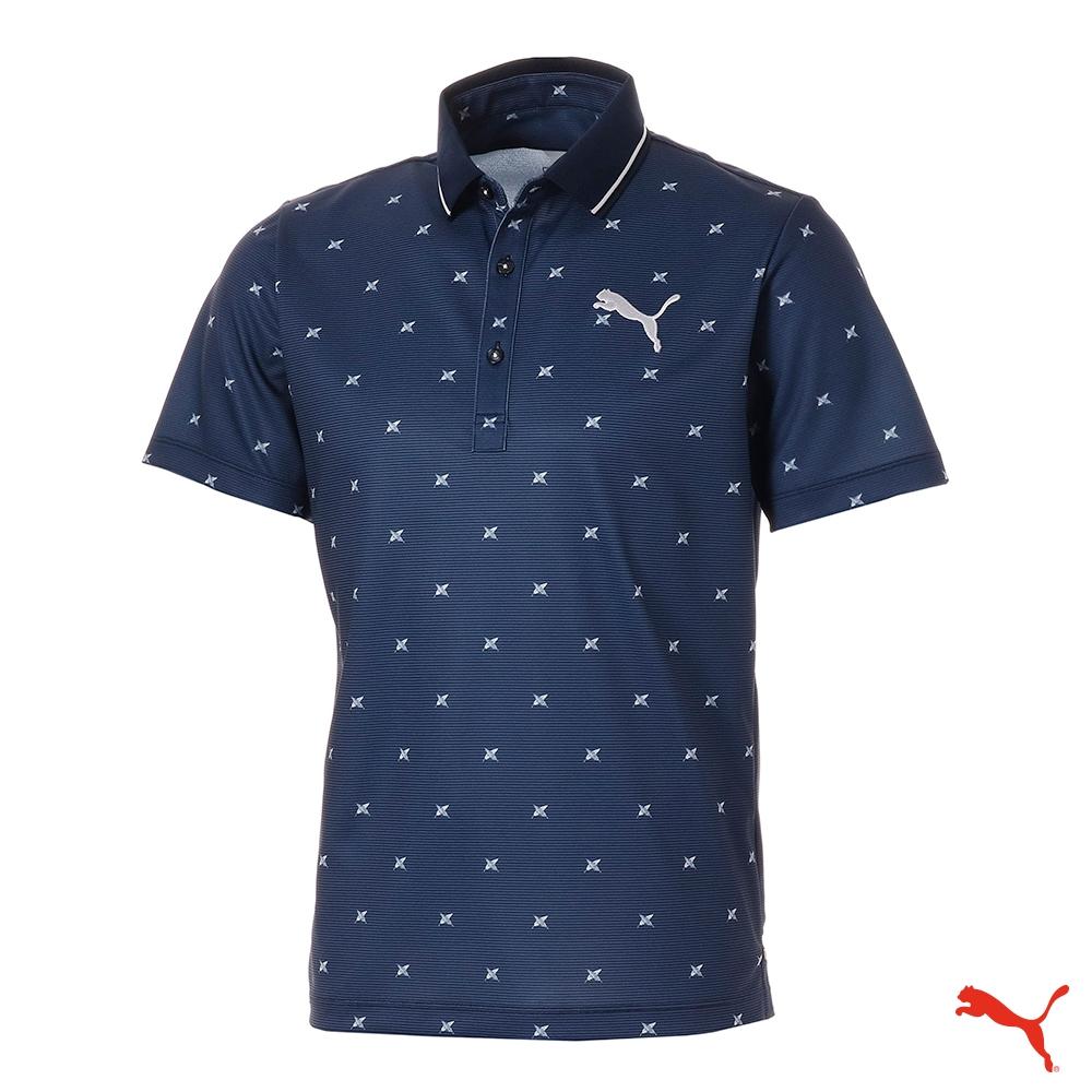 PUMA GOLF 男 高爾夫球系列短袖POLO(日本線) 923830 02