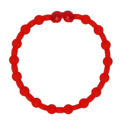 Pro Hair Tie 扣環髮圈單條組-紅色