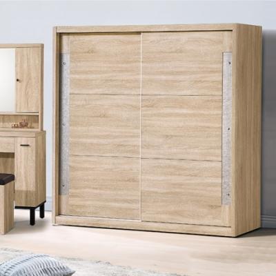 AS-妮茉6尺衣櫥-180x59.9x196.9cm