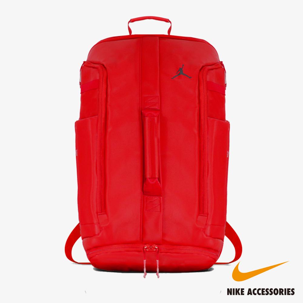 NIKE耐吉 JORDAN HYPER ADAPT PACK 喬丹後背/手提兩用包(紅)