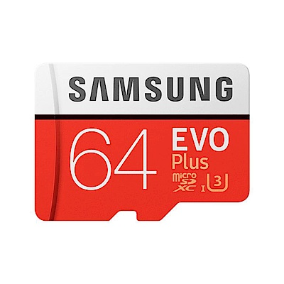 Samsung EVO Plus microSDXC 64GB 高速記憶卡