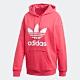 adidas 帽T 長袖上衣 連帽 運動 女款 粉 GD2439 product thumbnail 1