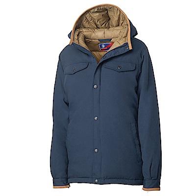 Wildland 女鵝絨防潑水極暖外套藍