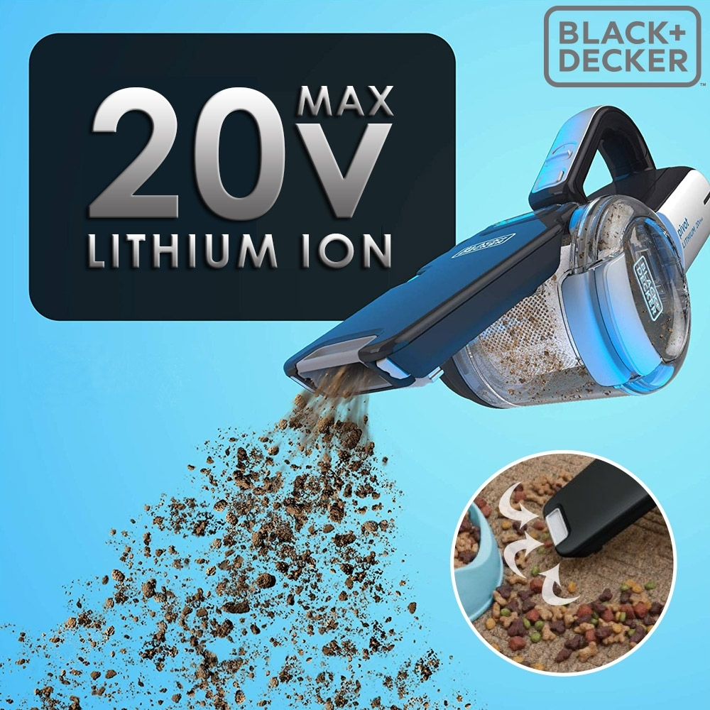 美國百工 BLACK+DECKER 強效鋰電無線吸塵器
