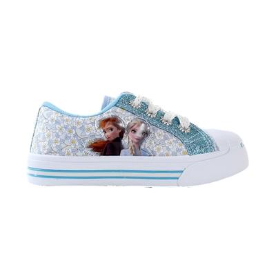 魔法Baby  女童鞋 台灣製冰雪奇緣授權正版俏麗帆布鞋 sa14705