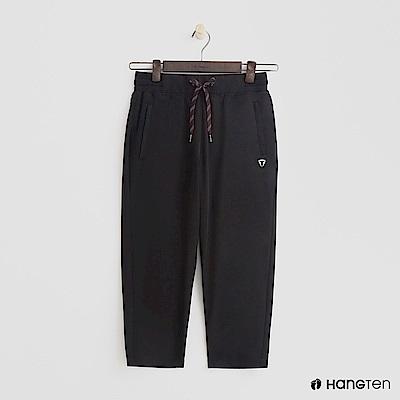 Hang Ten - 女裝 - ThermoContro-鬆緊綁帶機能長褲-黑
