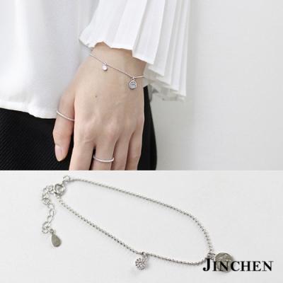 JINCHEN 純銀吊牌LOVE手鍊