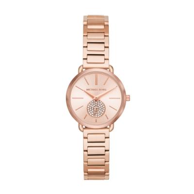 MICHAEL KORS美式優雅小秒針腕錶/小款MK3839