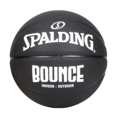 SPALDING BOUNCE 籃球-PU-7號球 室內 戶外 訓練 運動 斯伯丁 SPB91005 黑白