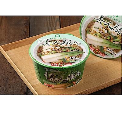埔里鎮農會 美人腿湯麵-肉燥口味(88gx12入)