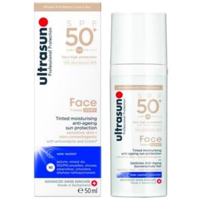 Ultrasun優佳 修顏防曬霜-象牙白SPF50+ PA++++(50ml/罐)