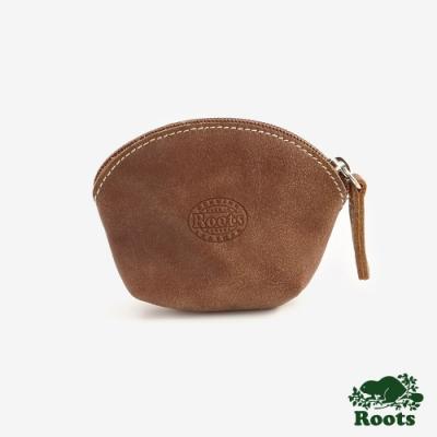 配件ROOTS 貝殼小零錢包-棕