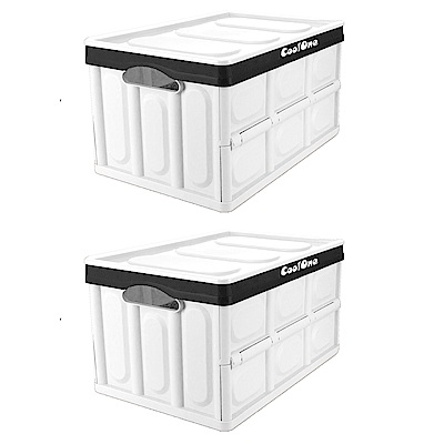 【Coolone】二入組 大容量摺疊箱