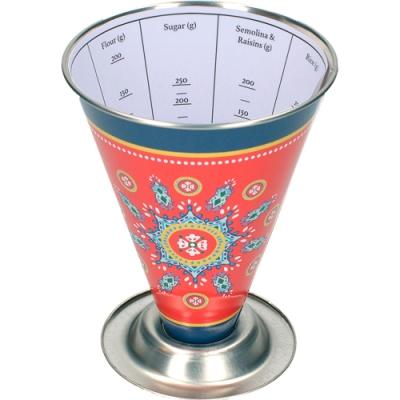 《KitchenCraft》錐形乾料量杯(異國風情)