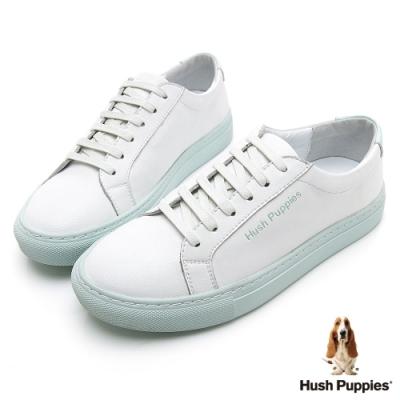 Hush Puppies Serendipity 綁帶女休閒鞋-淺藍色