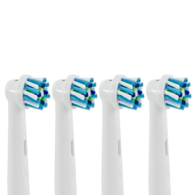 【1卡4入】副廠 多動向交叉電動牙刷頭 EB50 (相容歐樂B 電動牙刷)