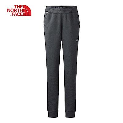 The North Face北面女款灰色針織長褲 3CIOZLY