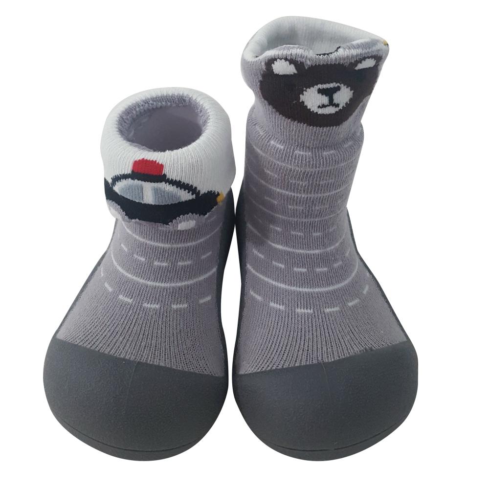 韓國Attipas 快樂學步鞋A19TG-城市小熊