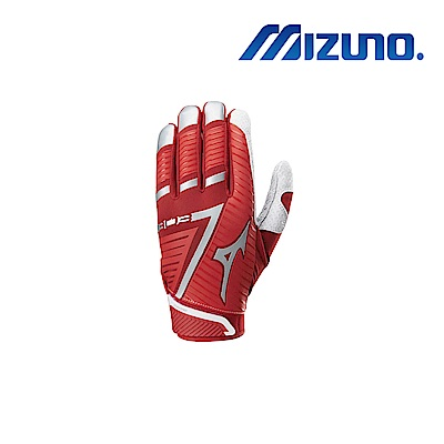 Mizuno B-303 打擊手套 紅x酒紅 330396.1012