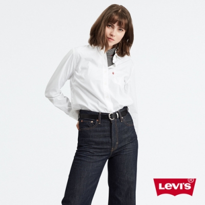 Levis 女款 長袖襯衫 Boyfriend 寬鬆版型
