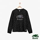 ROOTS 男裝- 全彩長袖T恤-黑色