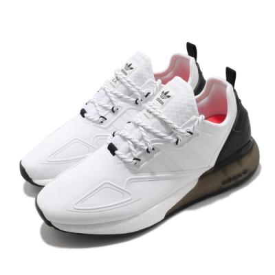 adidas 休閒鞋 ZX 2K Boost 男鞋 愛迪達 三葉草 緩震 穿搭推薦 白 黑  S42834