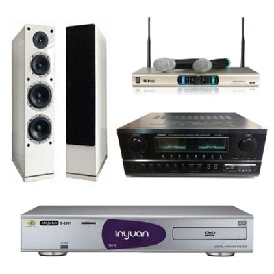 音圓N2C+SA-830U+AS-168+MR-3000D IV(伴唱機 4TB+卡拉OK套組)