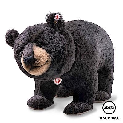 STEIFF德國金耳釦泰迪熊 黑熊先生 Mr. Big Black Bear(限量版)