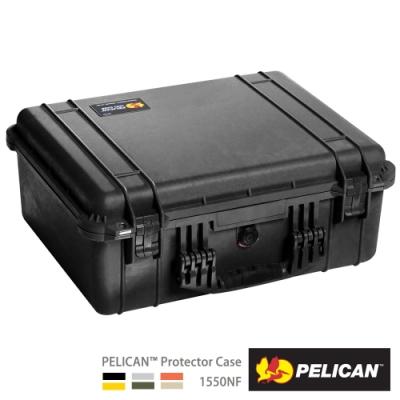美國 PELICAN 1550NF 氣密箱-空箱(黑)
