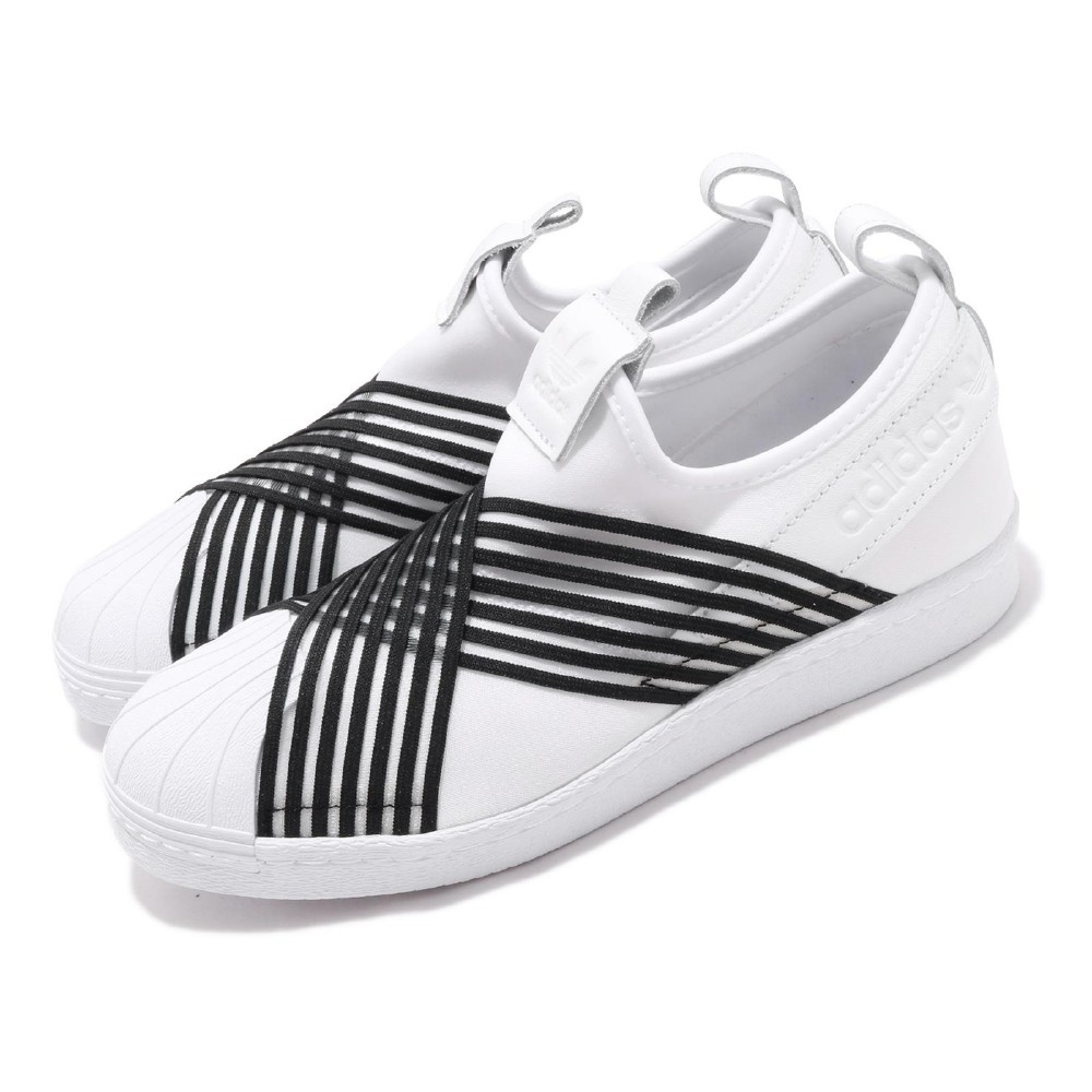 adidas 休閒鞋 Slip On 復古 襪套 女鞋