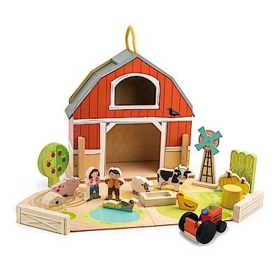 Tender Leaf Toys木製家家酒玩具-我的開心農場場景玩具組
