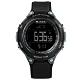 JAGA 捷卡 電子運動 倒數計時 計時碼錶 鬧鈴 防水100米 橡膠手錶-黑色/48mm product thumbnail 1