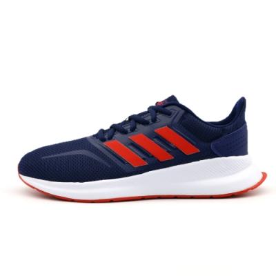 Adidas RUNFALCON K 跑步鞋 中大童 深藍紅