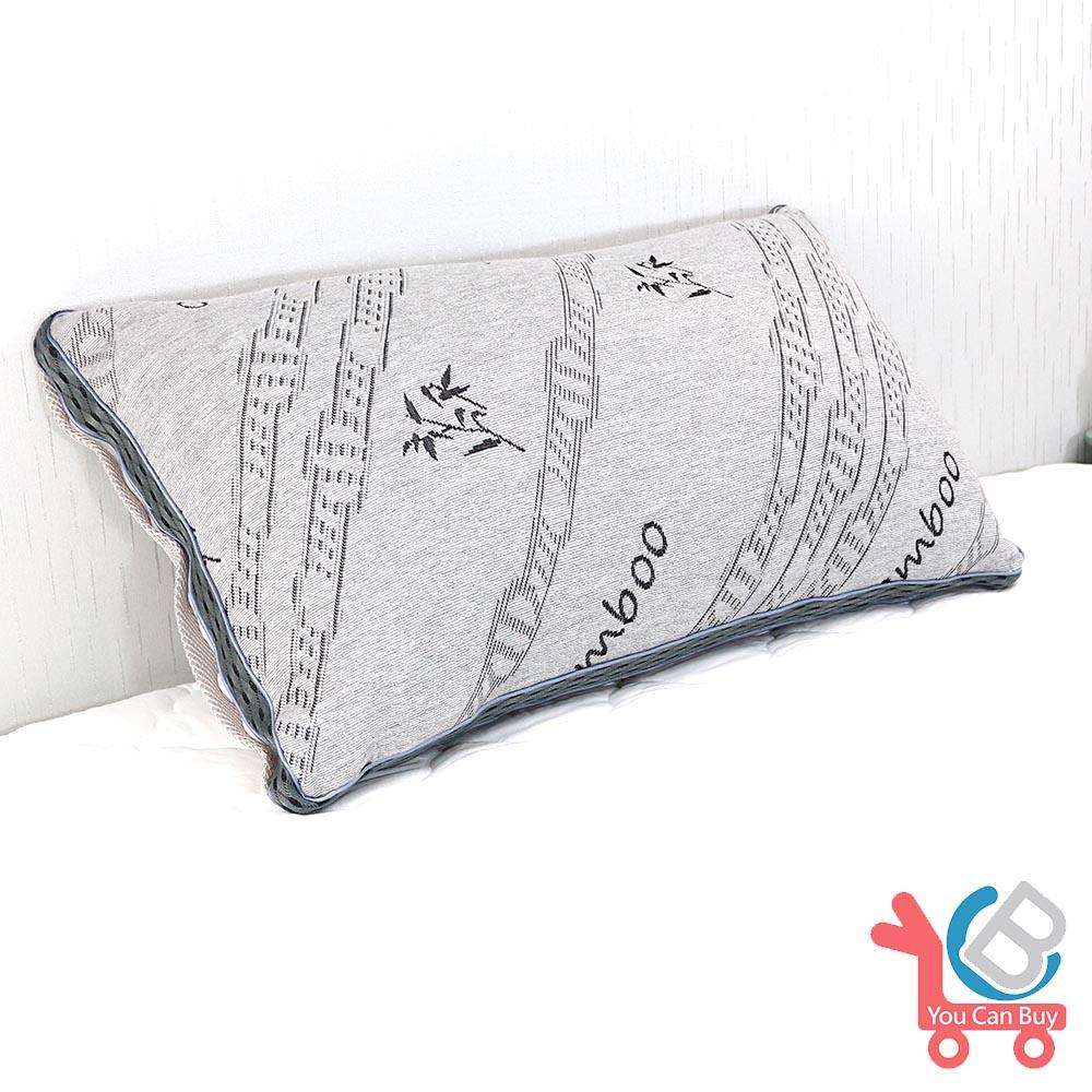 (限時下殺)You Can Buy 天然竹炭纖維 立體3D獨立筒舒眠枕 1入